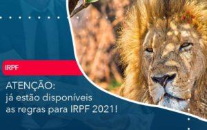 Ja Estao Disponiveis As Regras Para Irpf 2021 Organização Contábil Lawini - FIDUCIA Contabilidade | Assessoria e Consultoria no Rio de Janeiro