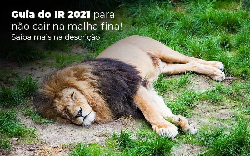 Guia Ir 2021 Para Nao Cair Na Malha Fina Saiba Mais Na Descricao Post 1 Organização Contábil Lawini - FIDUCIA Contabilidade   Assessoria e Consultoria no Rio de Janeiro